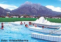 Ferienwohnung Hoopferau - Kristalltherme