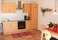 Ferienwohnung Hopferau - Küchenzeile
